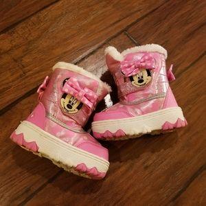 Disney Mini Mouse snow boots